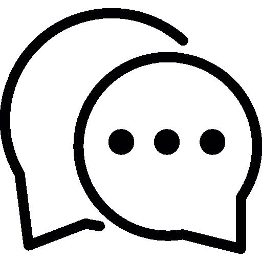 dialogue speech balloons